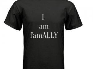 ally, lgbt ally, family, mother, father, sister, brother, sibling, parent